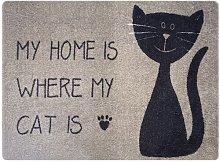 Alivia My Home Cat Doormat Brayden Studio