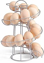 Alivier Egg Basket Spiral Egg Storage Holder Stand