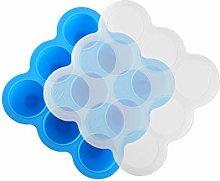 Alivier Silicone Food Freezer Trays 9 Pots Baby