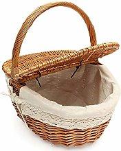 Alivier Wicker Shopping Baskets Vintage Wicker