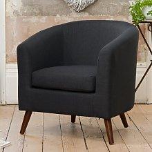 Aliyah Tub Chair Zipcode Design Upholstery Colour: