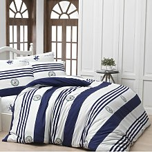 Alize Duvet Cover Set Longshore Tides Colour: Dark
