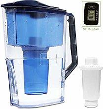 Alkaline Water Filter Pitcher,2.5L Filter Kettle,