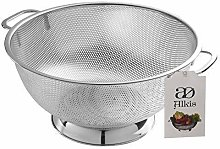 Alkis Fine Kitchen Colander-Stainless Steel