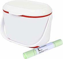 All-Green Addis Kitchen Compost Caddy – White &