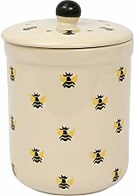 All-Green Haselbury 3L Ceramic Compost Caddy/Food