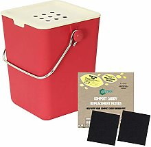 All-Green Red Nubu Typhoon Bamboo Kitchen Compost