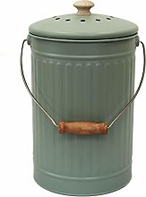 All-Green Sage Green – 7 Litre Metal Compost