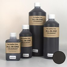 All In One DARK BROWN Leather Colourant. For