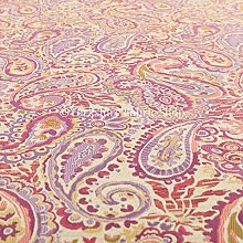 All Over Paisley Pattern Purple Lilac Colour