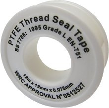 All Trade Direct 3 X Ptfe White Thread Seal Tape