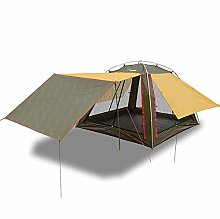 All-weather outdoor tent, luxurious shade canopy,