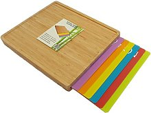 Allaire Bamboo Wooden Chopping Board Set Brambly