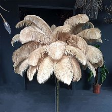 Allamp Branch Feather Floor Lamp Pure Copper