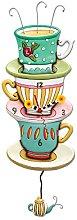 Allen Designs P1502 Tea Cup Wall Clock 31cm