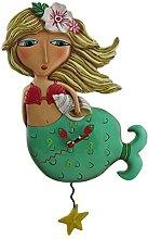 Allen Designs Shelley Mermaid Starfish Pendulum