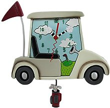 Allen Designs Stay the Course White Golf Cart