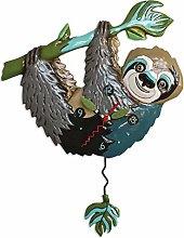 Allen Designs Swinging Pendulum Clock Slow Poke