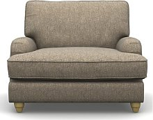 Allensby Armchair Three Posts Upholstery Colour: