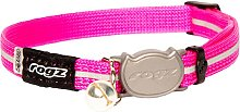 Alleycat Cat Collar (One Size) (Pink) - Rogz