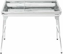 Allibuy Outdoor Grill BBQ Steel Charcoal Grill