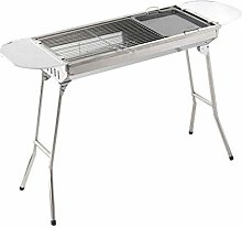 Allibuy Outdoor GrillPortable Folding Charcoal