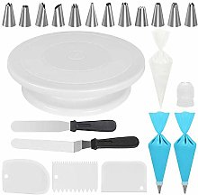 Alliebe Cake Decorating Kits Supplies with 11 Inch