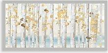 Allison Pearce - Autumn Leaves Framed Print, 49.5