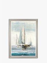 Allison Pearce - Full Sails Framed Canvas Print,