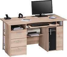 Allison Wooden Computer Work Station In Beech With