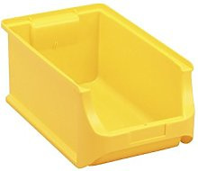 Allit 456214 Size 4 Storage Bin, Yellow, 355 x 205