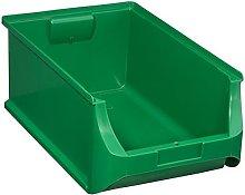 Allit 456219 Size 5 Storage Bin, Green, 500 x 310