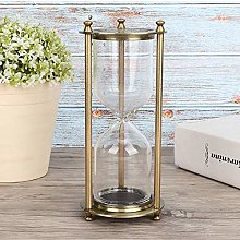 Alloy Relief Imitation Copper Hourglass, Sand