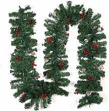 Alloyseed Christmas Garland, Christmas Wreath