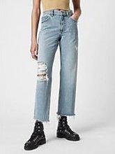 Allsaints April Boyfriend Jeans - Light Indigo