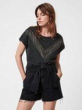 Allsaints Imogen Boy Chain T-Shirt - Vintage Black