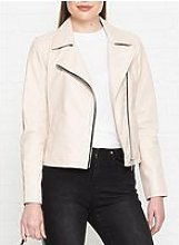 Allsaints Vela Biker Jacket - Pink