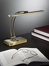 Alluvial Desk Lamp ClassicLiving Base Finish: