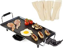 Almineez Electric Teppanyaki Grill Griddle with 8