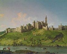 Alnwick Castle - Art Print on Canvas East Urban