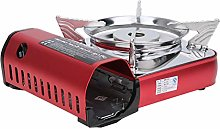 Alomejor1 Camping Stove Stainless Steel Cassette