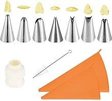 ALOMIN 11 Pieces Cake Decorating Kits Supplies
