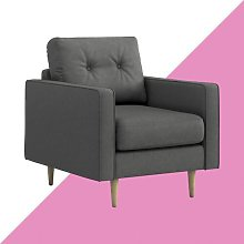 Alpes Armchair Hashtag Home Upholstery Colour: