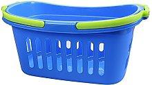 ALPFA 801828Shopping Basket, Plastic, blue,
