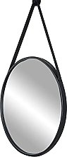 Alqn Bathroom Mirrors Wall Mounted, Black |