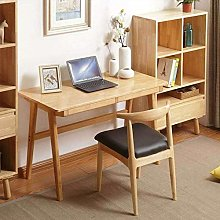 Alqn Computer Desk Wooden, Modern Simple Office