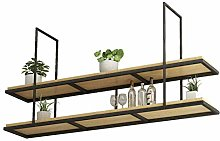 Alqn Hanging Cube Floating Shelves Patio Flower