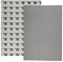 Alresford Linen Company - Bee Tea Towel Olive