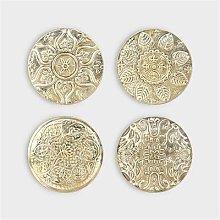 Alresford Linen Company - Gold Coasters