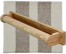 Alresford Linen - Roller Towel Rail - White
